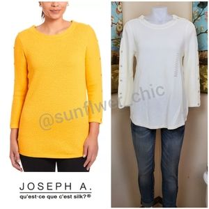 🆕️Joseph A. Textured Crewneck Sweater